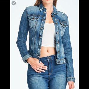 👓 Sneak Peak short jeans jacket M